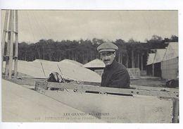 CPA Les Grands Aviateurs Dubonnet Au Poste De Direction D'un Monoplan Tellier N° 118 - Aviateurs
