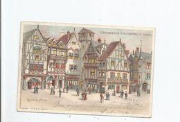 PARIS EXPOSITION UNIVERSELLE 1900 LE VIEUX PARIS (CARTE LUMINEUSE) - Ausstellungen