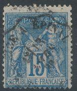 Lot N°38609  N°90, Oblit Cachet à Date Des Ambulants LAGNY/MEUSE à EPINAL - 1876-1898 Sage (Type II)