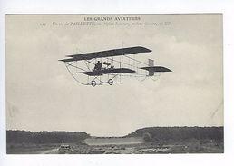 CPA Les Grands Aviateurs Un Vol De Paillette Sur Biplan Sommer N° 123 - Aviateurs