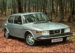 ! Moderne Ansichtskarte Saab 99 EMS , Automobil, Car, PKW, KFZ, Voiture - PKW