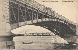 BASEL  Fohanniferbrücke U Unferer Rheinweg  Le PONT  1907 - Suisse