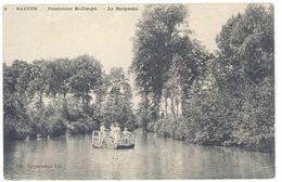 Cpa Belgique - Bauffe - Pensionnat Saint-Joseph - La Barquette - Belgique