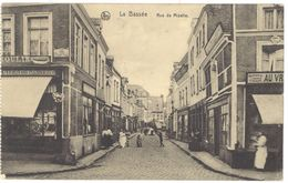 Cpa Belgique - La Bassée - Rue De Mizelle ( Tampon Feldpost Au Verso ) - Belgique