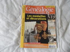 La Revue Francaise De Généalogie Et De L'histoire Des Familles 2007 Les Médailles Et Décorations N° 15H - Livres, BD, Revues