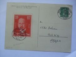 GERMANY - 1927 Postcard - 33. Deutscher Philatelistentag Berlin With Deutsche Seepost Afrika Postmarks - Germany