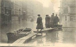 PIE-17-P.T. 8186 :  PARIS. INONDATIONS - Inondations De 1910