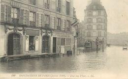 PIE-17-P.T. 8187 :  PARIS. INONDATIONS - Inondations De 1910