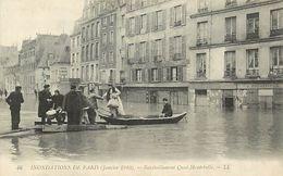 PIE-17-P.T. 8188 :  PARIS. INONDATIONS - Inondations De 1910