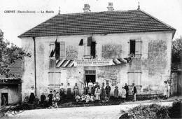 CORNOT (Haute-Saône) - La Mairie. Edition CLB. Non Circulée. Bon état. - Francia