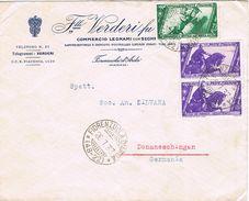26078. Carta FIORENZUOLA D'ARDA (Piacenza) 1933. Commercio A Germany - 1900-44 Victor Emmanuel III