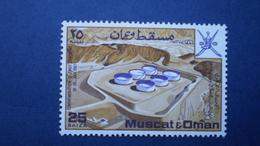 MASCATE   N° 89   NEUF ** LUXE  3 SÉRIES   PORT OFFERT  FRANCE Et EU - Oman