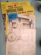 CLI1118 CONCOURS TINTIN EDDY MERCKX   -  Pour  Collectionneurs ... 3 Pages De Revue Des Années 70/80 , Peut être Plasti - Livres, BD, Revues
