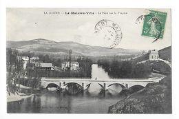 LE MALZIEU-VILLE  (cpa 48)  Le Pont Sur La Truyère -   - L 1 - Autres Communes