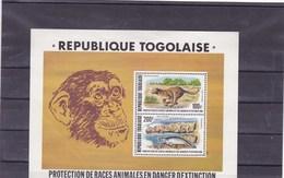 TOGO : Y&T :protection De La Race Animale : BF  107**PA (pli Coté Gauche) - Togo (1960-...)