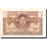 France, 5 Francs, 1947 French Treasury, 1947, 1947, KM:M6a, TTB - Treasury