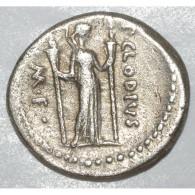 - 93 A - 52 Avt JC - PUBLIUS CLODIUS - DENIER ARGENT - 1. Republiek (280 BC Tot 27 BC)