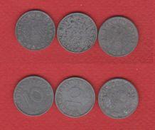 Allemagne  / Lot De 3 Monnaies - [ 4] 1933-1945 : Third Reich
