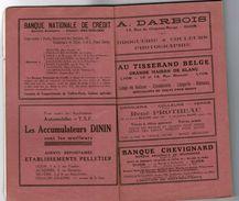 1929 Bourgogne, Morvan, Plateau De Langres Edité Par La Fédération Des Syndicats D'Initiative: Les ESSI - Bourgogne