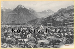 CH - Näfels - Glarus Nord GL - Litho - Teilansicht Um 1910 - GL Glarus