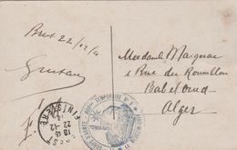 29 BREST HOPITAL TEMPORAIRE N° 9 - Oorlog 1914-18