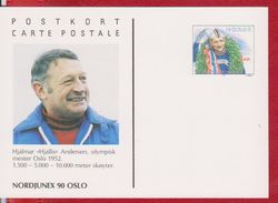 OLYMPIC GAMES 1952 OSLO NORWAY POSTAL STATIONERY - Winter 1952: Oslo
