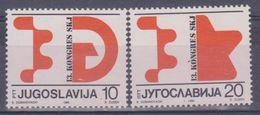 1986 Jugoslavia - Congresso Lega Comuni Jugoslavi - 1945-1992 Repubblica Socialista Federale Di Jugoslavia