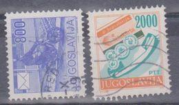 1989 Jugoslavia - La Posta - 1945-1992 Repubblica Socialista Federale Di Jugoslavia