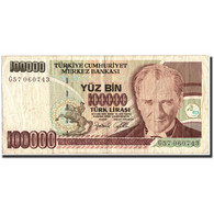 Turquie, 100,000 Lira, 1970, 1970-10-14, KM:205, TTB - Turchia