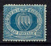 San Marino 1877 // Michel 2 * (9875) - Nuevos