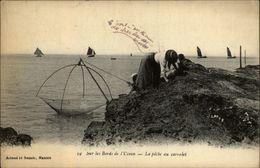 PECHE - Pêche Au Carrelet - Pêcheries - - Pêche
