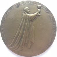 Médaille. Théâtre Royal De La Monnaie. Bruxelles 2 Septembre 1914.  75 Mm - 123 Gr - Monetary / Of Necessity