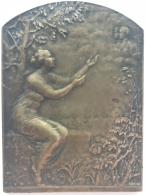 Médaille. Les Coeurs Belges Vibrent à L'unissson 1914-1915. P. Theunis. 680 X 80 - 128 Gr - Belgique