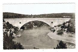 CPSM 83 ARTIGNOSC SUR VERDON Le Pont Du Verdon - France