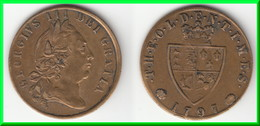 **** GRANDE-BRETAGNE - GREAT-BRITAIN - TOKEN - THE OLDEN TIMES 1797 - GEORGE III **** EN ACHAT IMMEDIAT !!! - Royal/Of Nobility