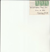 Enveloppe Flamme Croix Rouge PARIS - Gandon - Postmark Collection (Covers)