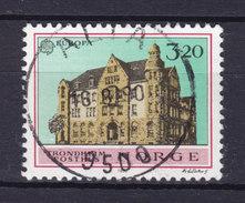 Norway 1990 Mi. 1046 3.20 (Kr) Hauptpostamt Trondheim Europa CEPT Deluxe Cancel : ALTA !! - Norwegen