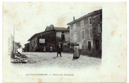 Drôme - LE GRAND-SERRE - Sur La Place Des Terreaux - Dos Simple - Other Municipalities