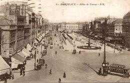 BORDEAUX   ALLEES DE TOURNY - Bordeaux