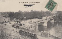 Transports - Tramways - Avion - Courbevoie Pont De Neuilly - Tramways