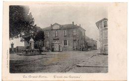 Drôme - LE GRAND-SERRE - L'Ecole Des Garçons - Dos Simple - Other Municipalities