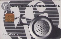 TARJETA TELEFONICA DE CUBA (BANCO FINANCIERO INTERNACIONAL) (364) - Cuba