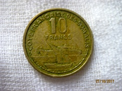 Côte Française Des Somalis 10 Francs 1965 - Djibouti