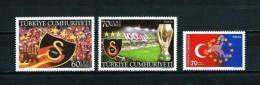 Turquía  Nº Yvert  3206/7-3208  En Nuevo - 1921-... República