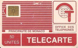 CARTE°-PUBLIC-MP 11-50U-PYJAMA-PUCE-GEMB-01/89-V°142C-UTILISE-R° Petites Traces Usures-BE-RARE - Monaco