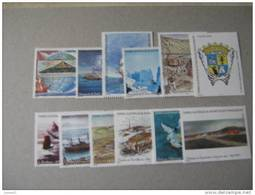 2005  TAAF  P 418/429a  * *    SERIE  DU  CARNET  HISTORIQUE    C418 - Terres Australes Et Antarctiques Françaises (TAAF)