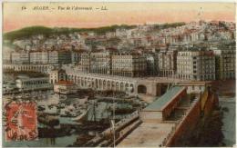 (Algérie) Alger 088, LL 14, Vue De L'Amirauté, Voyagée En 1919, Bon état, Format 138 X 87 - Alger