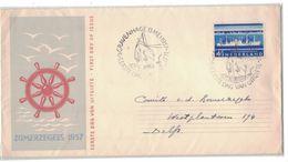 AU31  NEDERLAND - Cover GRAVENHAGE To DELFT 13 MEI 1957 - FDC ZOMERZEGELS Mi.692 - Covers & Documents