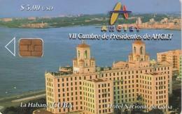 TARJETA TELEFONICA DE CUBA (HOTEL NACIONAL DE CUBA) (429) - Cuba