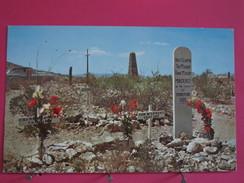 Etats Unis - Arizona - Tombstone - Graves Of Billy Clanton Tom McLowery & Frank McLowery - Scans Recto-verso - Etats-Unis